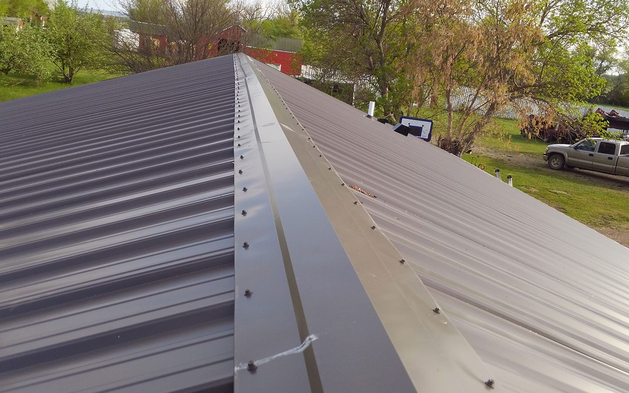 Standing Seam Amp Pro Rib Flying B Construction Steel